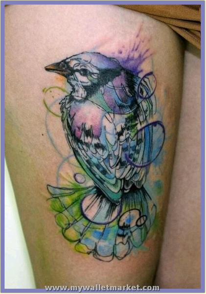 watercolor-abstract-tattoo by catherinebrightman