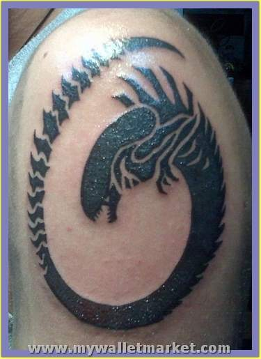 Aliens and Monsters Tattoos Pictures by