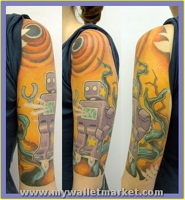 alien-robot-jungle-tattoo-by-thesearemyscars-2781629
