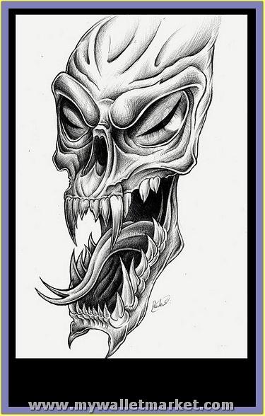 alien-skull-tatt-by-hatefueled-qn-276916 by catherinebrightman