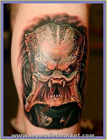 monster-alien-predator-tattoo-design by catherinebrightman