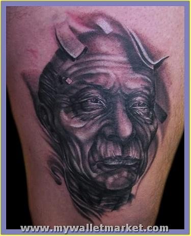 old-alien-face-tattoo