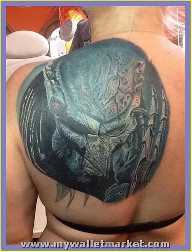 left-back-shoulder-alien-tattoo-for-girls by catherinebrightman