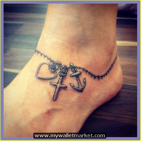 25-heart-cross-anchor-tattoo by catherinebrightman