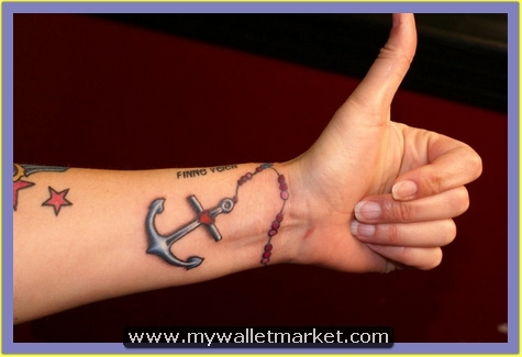 29-tattoo-of-rosary-anchor by catherinebrightman