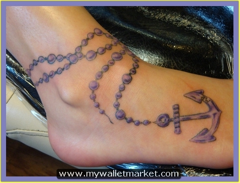 foot-rosary-anchor-tattoo-design by catherinebrightman