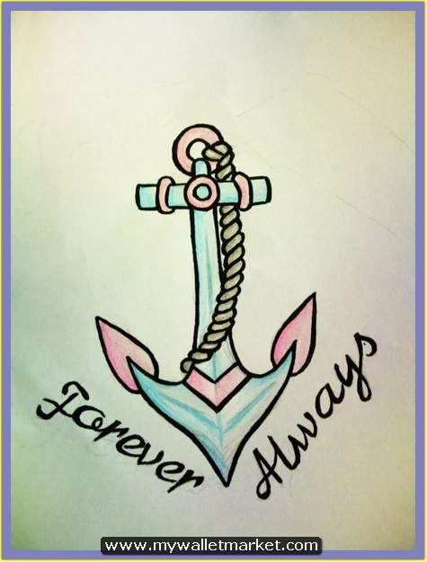 forever-always-anchor-tattoo-design