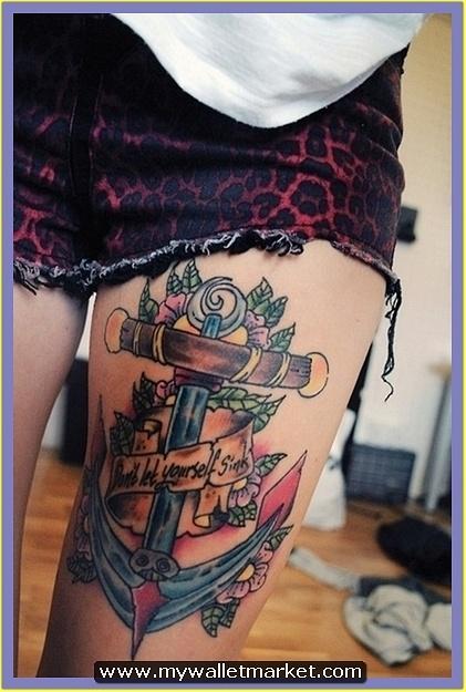 gorgeous-anchor-tattoo-on-thigh