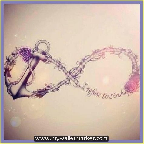 infinity-symbol-anchor-tattoo