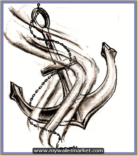 mind-blowing-chain-anchor-tattoo-design by catherinebrightman