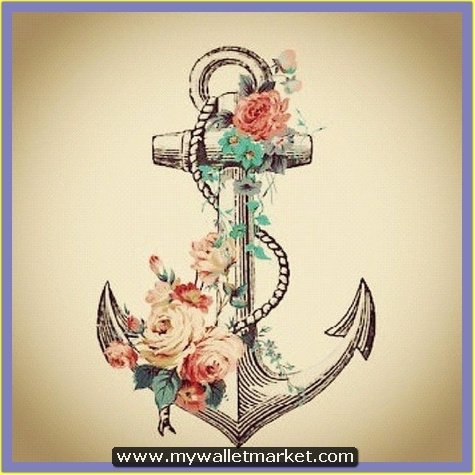 mind-blowing-rope-anchor-with-flowers-tattoo by catherinebrightman