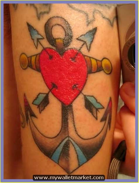 red-heart-with-arrows-and-anchor-tattoo