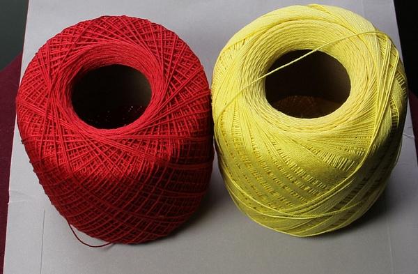 CottonThread-Yellow-Red_$2LOT_fullvw by DanielleHoren