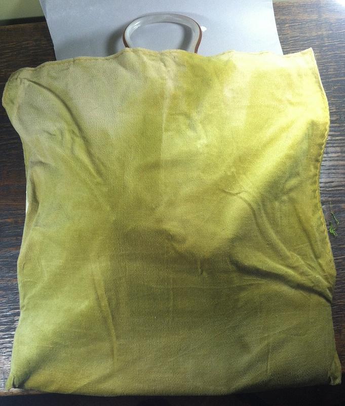 Vintage Foam Bobbin Lace Pillow-FullCover-- $95