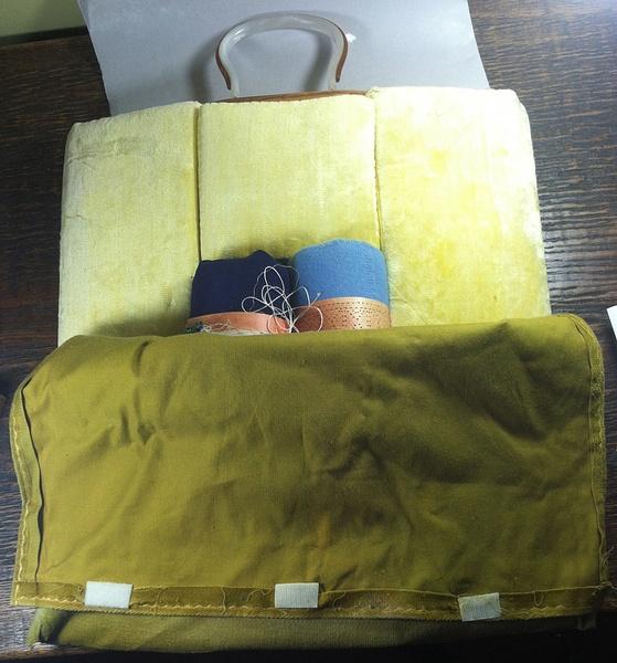 Vintage Foam Bobbin Lace Pillow-PartialCover-- $95 by DanielleHoren