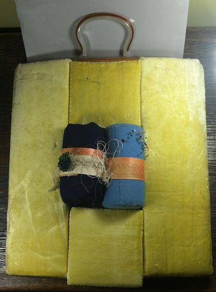 Vintage Foam Bobbin Lace Pillow  - Full -- $95 by DanielleHoren