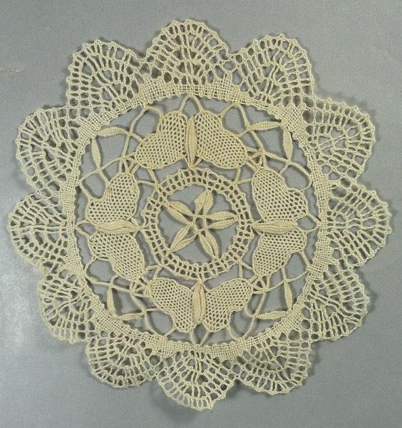 Vintage White Cotton -Bobbin Lace Doily -  $4 by DanielleHoren