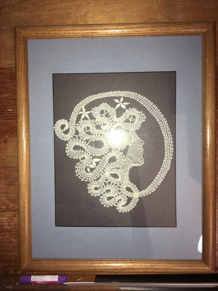 WomaninProfile-Framed-Vw2 by DanielleHoren
