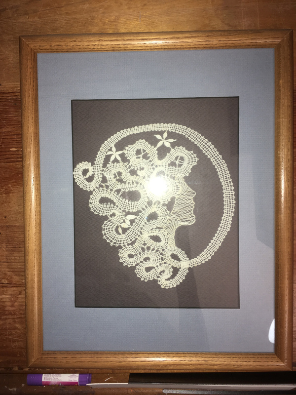WomaninProfile-Framed-Vw2
