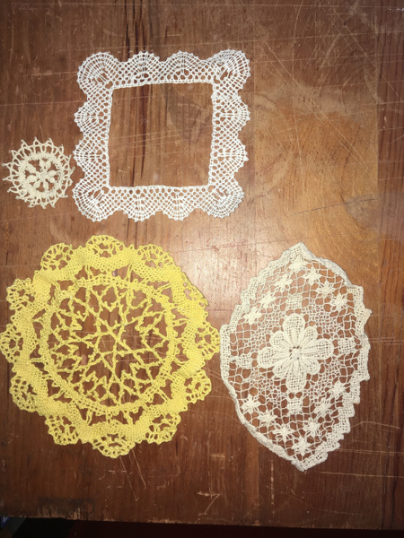Finished Lace Pieces - Lot1 by DanielleHoren