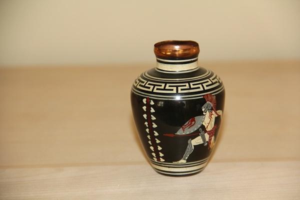 Greek Enamel Vase by DanielleHoren