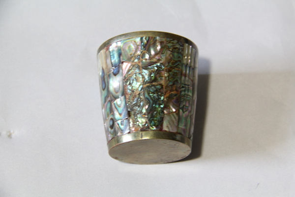 Abalone Inlaid Cup by DanielleHoren