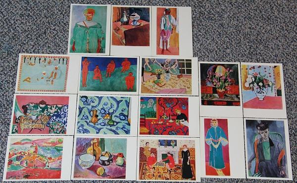 Matisse_16Postcards by DanielleHoren