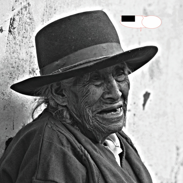 Anciana Huancaya by Carlos Fossati