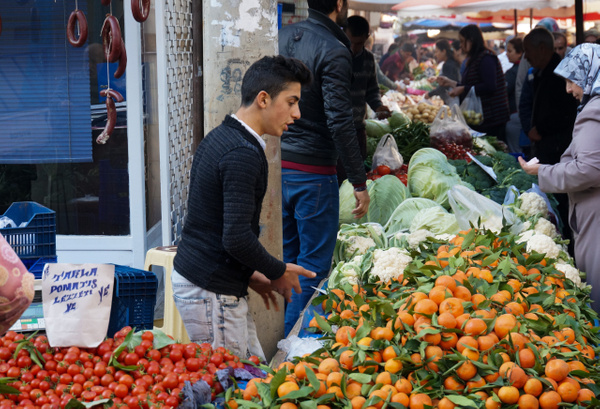 ANTALYA TUESDAY MARKET 2014 by Greg Vickers by Greg Vickers