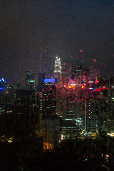 Rain in Kuala Lumpur 2018