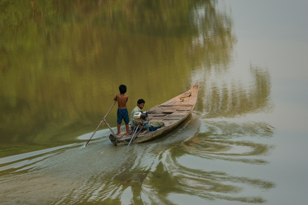Sangker River, Battambang, Cambodia 2018