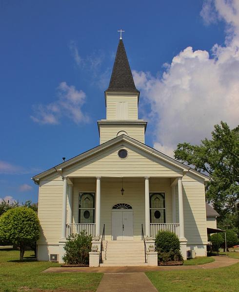 Pepperell United Methodist Church. 26th Street, Opelika, Alabama. by MartiDunaway