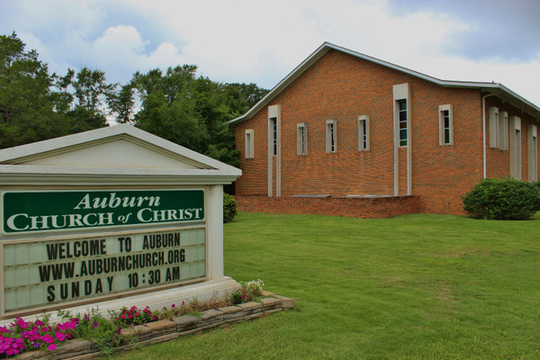 Auburn Church of Christ. South College Street, Auburn, Alabama. by MartiDunaway
