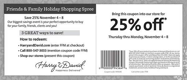 Harry and David coupons by Lillymyers55