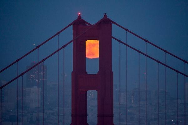 Mystical Moon San Francisco by FLarson