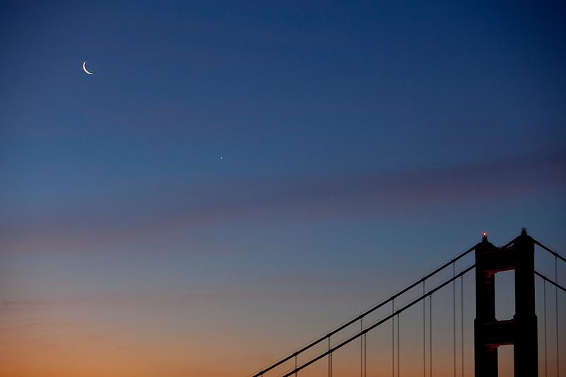 Twilight Venus Moon