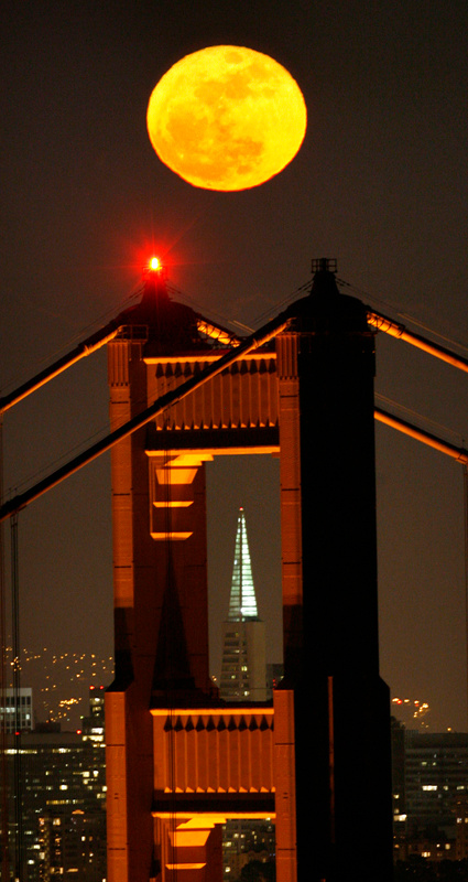 San Francisco Full Moon